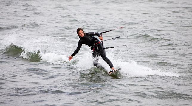 Kiting i vinden