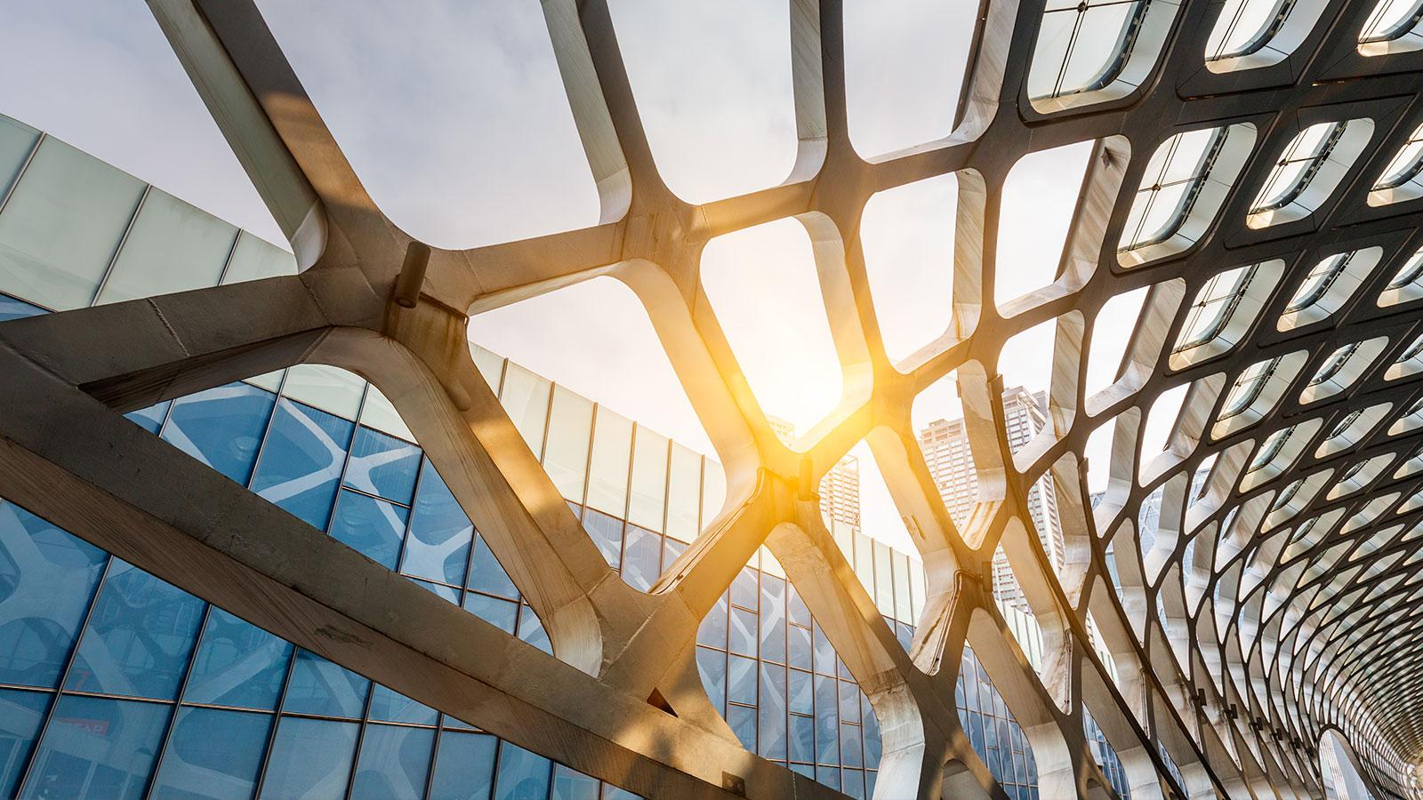 Spennende arkitektur