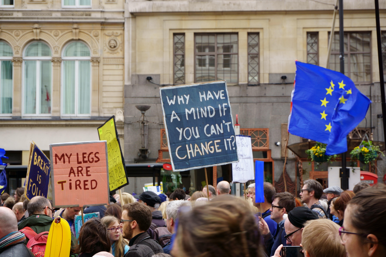 Demonstrasjon mot Brexit