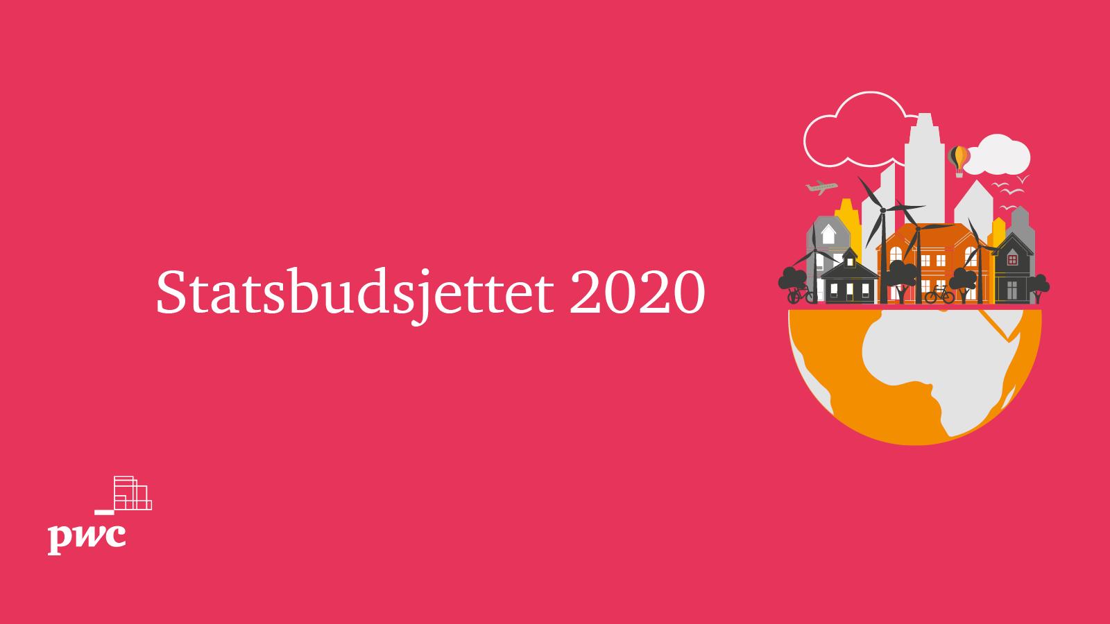 Statsbudsjettet 2020 SoMe